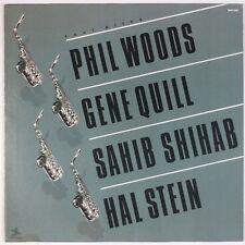 PHIL WOODS, GENE QUILL, SAHIB SHIHAB, HAL STEIN: Four Altos PRESTIGE Jazz LP VG+