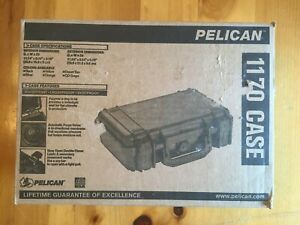 NEW Black Pelican Products 1170 Protector Case