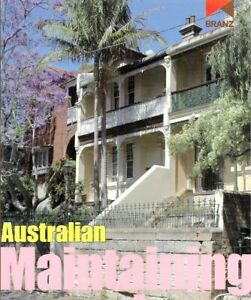 Australian Maintaining Your Home by Robert Montague (Paperback, 2007)