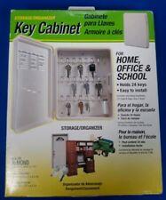 HY-KO PROD CO Key Cabinet, Holds 24 Keys, Plastic KO301
