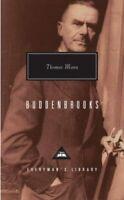 Buddenbrooks The Decline of a Family by Thomas Mann 9781857151077 | Brand New