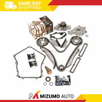 Timing Chain Kit Water Pump Oil Pump Cover Gasket Fit 98-99 Chrysler Dodge 2.7