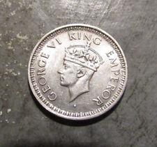1944 Silver India 1/4 Rupee