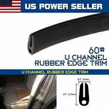 60inch PVC Rubber Seal Edge Trim Universal Car Automotive Window Door Waterproof