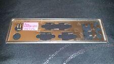 Panneau shield i/o Asus A7N8X-VM/S REV 2.02 plaque arriere