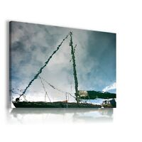 YACHT BOATS PAINTING View PRINT Canvas Wall Art Picture Large SIZES L248  MATAGA