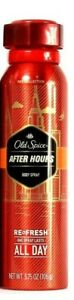 1 Old Spice Red Collection 3.75 Oz After Hours Refresh Lasts All Day Body Spray