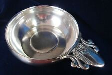 FIRST LOVE Child's Porringer or Feeding Bowl Rogers Silverplate 1937 Rare Find