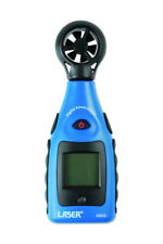 Anemómetro Medidor de temperatura y herramientas de Láser