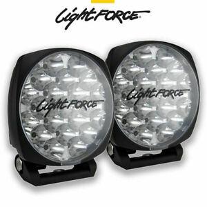 LIGHTFORCE VENOM PAIR 21 LED 75 WATT 150MM DRIVING LIGHTS LAMPS SPOTLIGHTS 939M