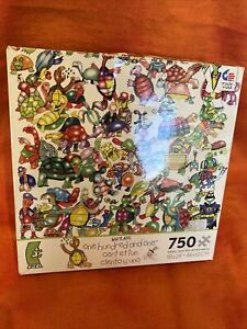 One Hundred Turtles and a Hare Puzzle 750 pcs Pre-owned, Great Condition