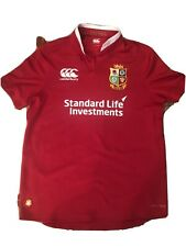 THE BRITISH AND IRISH LIONS NEW ZEALAND RUGBY SHIRT JERSEY CANTERBURY MENS Sz L