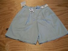 Nicklaus Microfiber Polyester Golf Shorts SZ 6 Regular....Light Mint Green...NWT