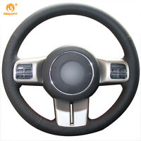 Leather Steering wheel Cover for Jeep Compass Grand Cherokee Wrangler Patriot