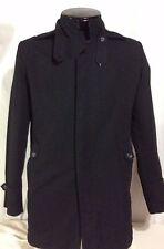 Black ZARA Jacket Coat Large