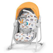 Kinderkraft Babywippe UNIMO 2020 5in1 Babyschaukel Wippe Schaukelwippe Gelb