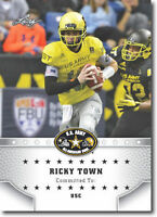 "RICKY TOWN 2015 LEAF ""1ST EVER PRINTED"" HIGH SCHOOL ARMY ROOKIE CARD!"