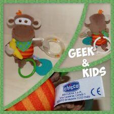 Doudou singe Chicco à suspendre - Hochet - Ref C21