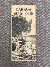 1955 Brochure Baraga State Park - Michigan Department Of Conservation