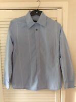 Diesel Light Blue With White Stripe Buttoned Men's Shirt Size Small