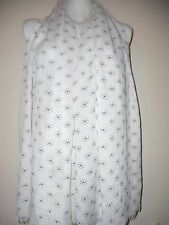 WOMENS COTTON FLOWER  SCARF EMBROIDERY WRAP GIFT  WRAP SHAWLS PASHMINA STOLE TOP