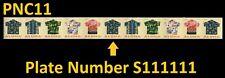 US 4597-4601 4601a Aloha Shirts 32c PNC11 S111111 MNH 2012