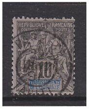 Oceanic Colonies- 1892,10c Noir/ Lilas Timbre- F / U - Sg 5