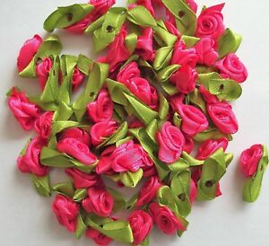 50 approx. Small roses, crafts, card making, scrapbooking, many colours