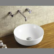 Round Countertop Art Ceramic Basin Above Counter