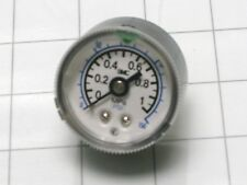 "SMC 150 psi gauge with max/min pointers 1/4 NPT mount 1 MPa 1 5/8"" diameter"