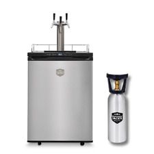 NEW: Mangrove Jack's Kegerator Triple Tap 3x Taps + FREE CO2 Cylinder (shipping