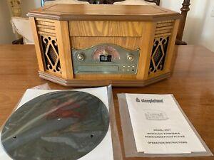 Steepletone Music System - Record Player Vinyl, CD, Cassette, Radio, NEW