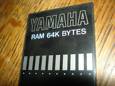 Yamaha Ram memory card Mcd64 (no case or insert)