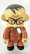 "MAO FRANK KOZIK Chinese Smoking ANARQEE  2.5"" figure  Smash The State - keychain"