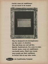 1966 Carrier Air Conditioning Company Are Not Meant To Be Framed Photo Print Ad