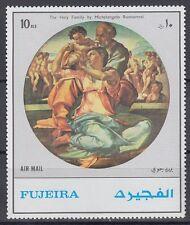 Fujeira 1972 ** Mi.1530 A Gemälde Paintings Michelangelo