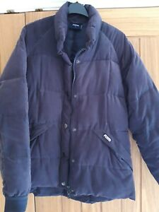 Navy blue Puffa Coat Size Medium (12)