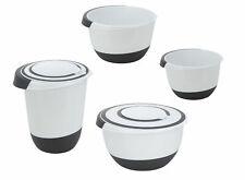 Rührschüssel Set 4 tlg - 1,5 bis 5 Liter - Salatschüssel Kochschüssel Schüsseln