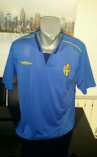 CAMISETA SHIRT VINTAGE SELECCION TEAM 2005/2006 SWEDEN  UMBRO TALLA L