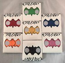 Wholesale Lot 100 LED Light UP Batman Fidget Hand Spinner Stress Finger Game Toy