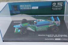 Minichamps 1994 Michael Schumacher Benetton Ford B194 Monaco GP 1:43 L/E 550 pcs