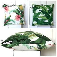 Tommy Bahama Indoor/Outdoor  Swaying Palm / Tropical Bird Throw Cushion Cover