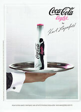 Publicité Advertising 088  2010   Coca-Cola  light  par Karl Lagerdeld soda 2