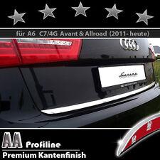 AUDI A6 C7 Typ 4G Avant - 3M Chrom-Zierleiste, Chromleiste, Heckleiste