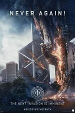 Ender's Game Never Again Movie Poster