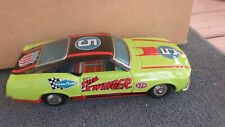 Vintage TPS Japan Tin  Litho The Swinger Mach I Mustang Battery Operated Working