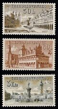 EBS Czechoslovakia 1954 - Beautiful Cities (I) - Michel 884-886 MNH**