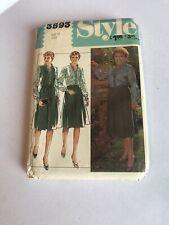 Vintage Style 3593 Sewing Pattern Jacket, Blouse, Skirt crossroads noele gordon