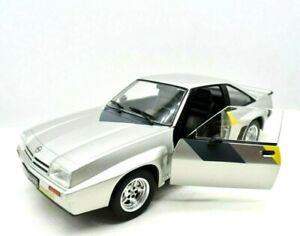Modellino auto scala 1:24 OPEL MANTA B 400 GRIGIO diecast modellismo collezione