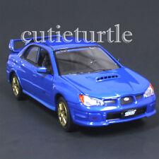Motormax 2006 Subaru Impreza WRX Sti 1:24 Diecast Model Car 74330 Blue